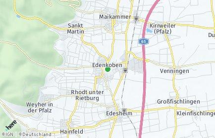 Stadtplan Edenkoben