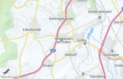 Stadtplan Edermünde