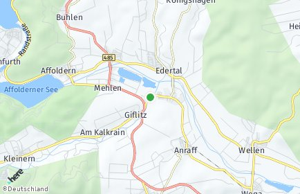 Stadtplan Edertal
