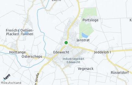 Stadtplan Edewecht
