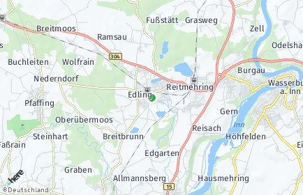 Stadtplan Edling OT Brandstätt
