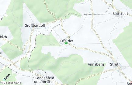 Stadtplan Effelder