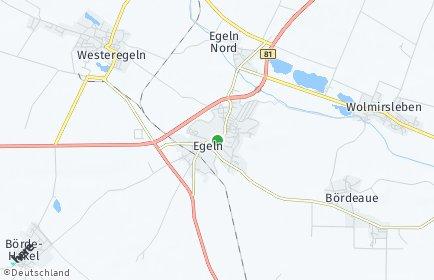 Stadtplan Egeln