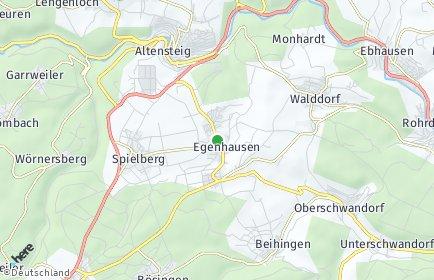 Stadtplan Egenhausen