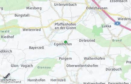 Stadtplan Egenhofen