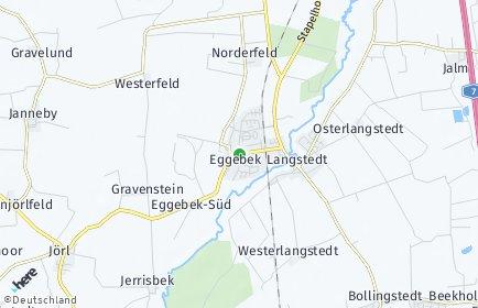 Stadtplan Eggebek