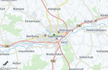 Stadtplan Eggenfelden