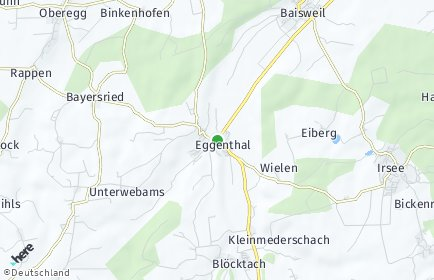 Stadtplan Eggenthal