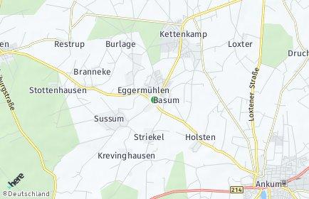 Stadtplan Eggermühlen