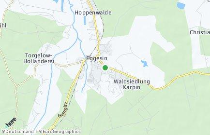 Stadtplan Eggesin