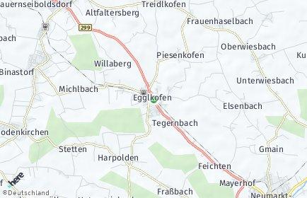 Stadtplan Egglkofen