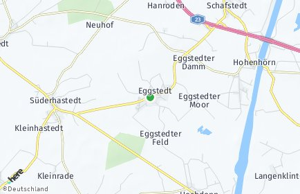 Stadtplan Eggstedt