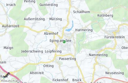 Stadtplan Eging am See