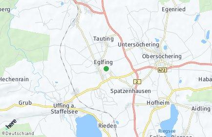 Stadtplan Eglfing