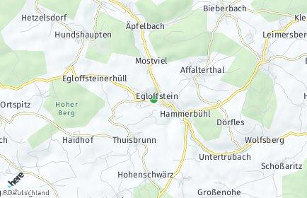 Stadtplan Egloffstein