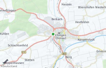 Stadtplan Ehingen (Donau)