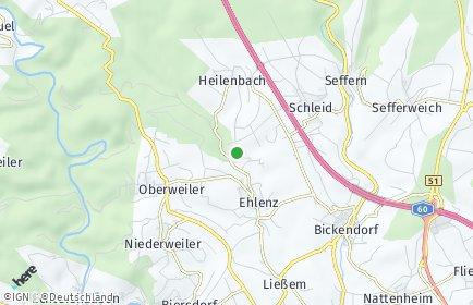 Stadtplan Ehlenz