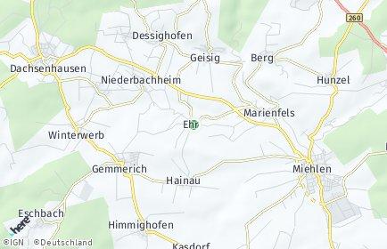 Stadtplan Ehr