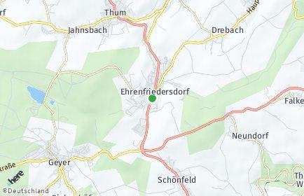 Stadtplan Ehrenfriedersdorf