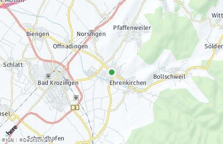 Stadtplan Ehrenkirchen