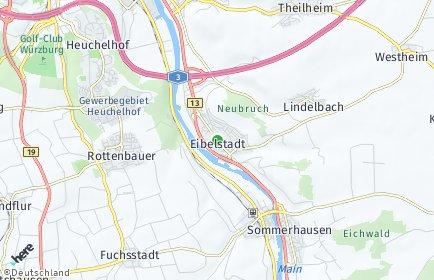 Stadtplan Eibelstadt