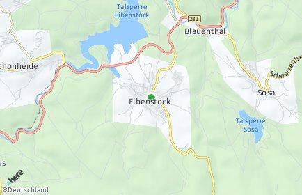 Stadtplan Eibenstock