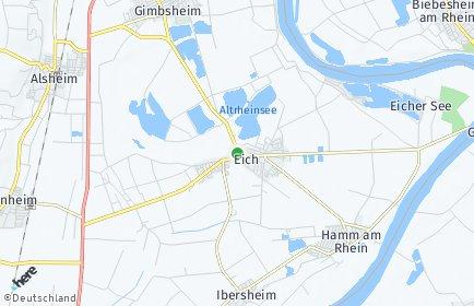 Stadtplan Eich