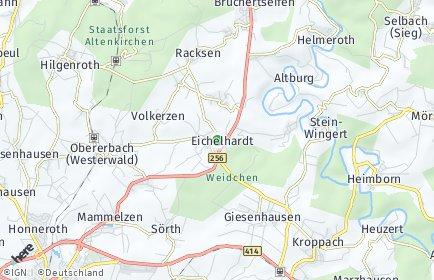 Stadtplan Eichelhardt