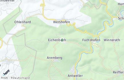Stadtplan Eichenbach