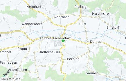 Stadtplan Eichendorf