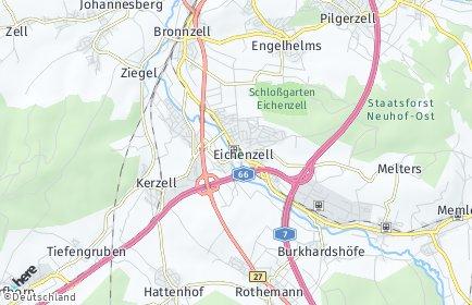 Stadtplan Eichenzell