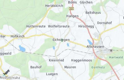 Stadtplan Eichstegen