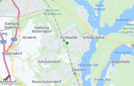 Stadtplan Eichwalde