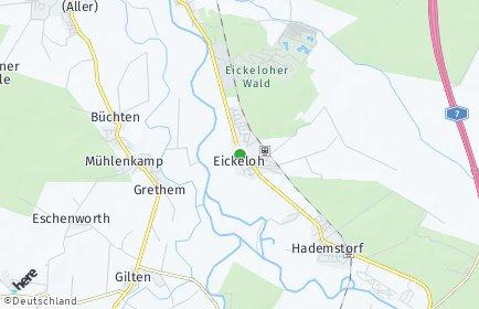 Stadtplan Eickeloh
