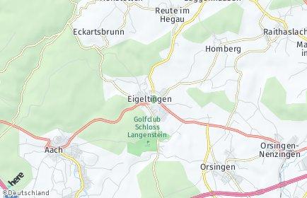 Stadtplan Eigeltingen