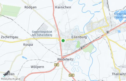 Stadtplan Eilenburg