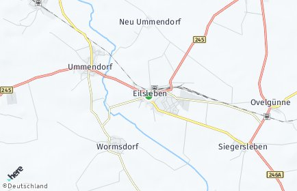 Stadtplan Eilsleben