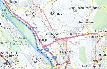 Stadtplan Eimeldingen