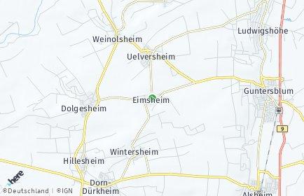 Stadtplan Eimsheim