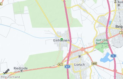 Stadtplan Einhausen