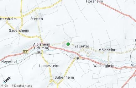Stadtplan Einselthum