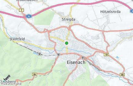 Stadtplan Eisenach