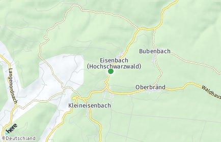 Stadtplan Eisenbach (Hochschwarzwald)