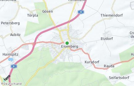 Stadtplan Eisenberg (Thüringen)