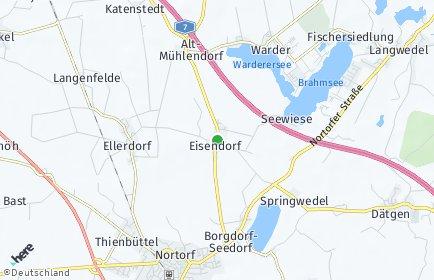 Stadtplan Eisendorf