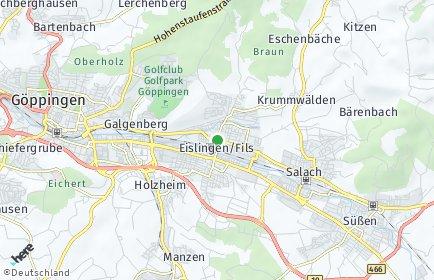 Stadtplan Eislingen/Fils