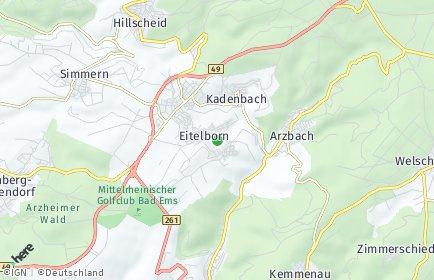 Stadtplan Eitelborn