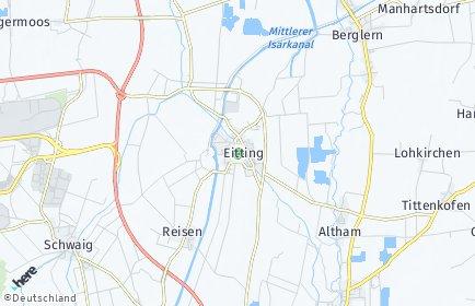 Stadtplan Eitting