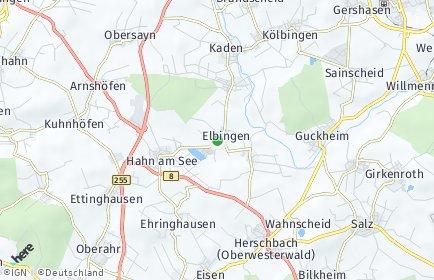 Stadtplan Elbingen