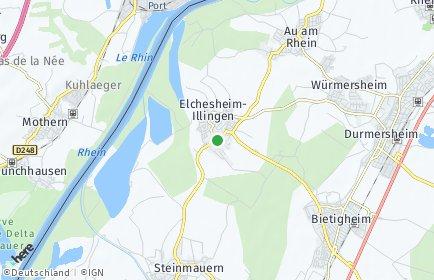 Stadtplan Elchesheim-Illingen
